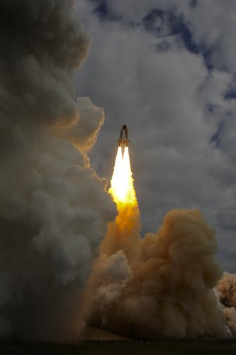 Launch of Space Shuttle Endeavour STS-134 mission