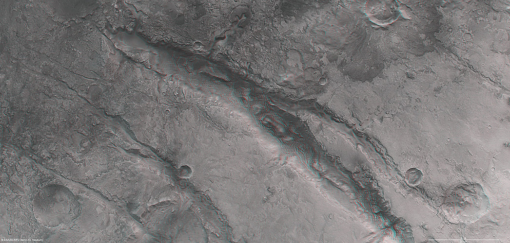 Nili Fossae in 3D