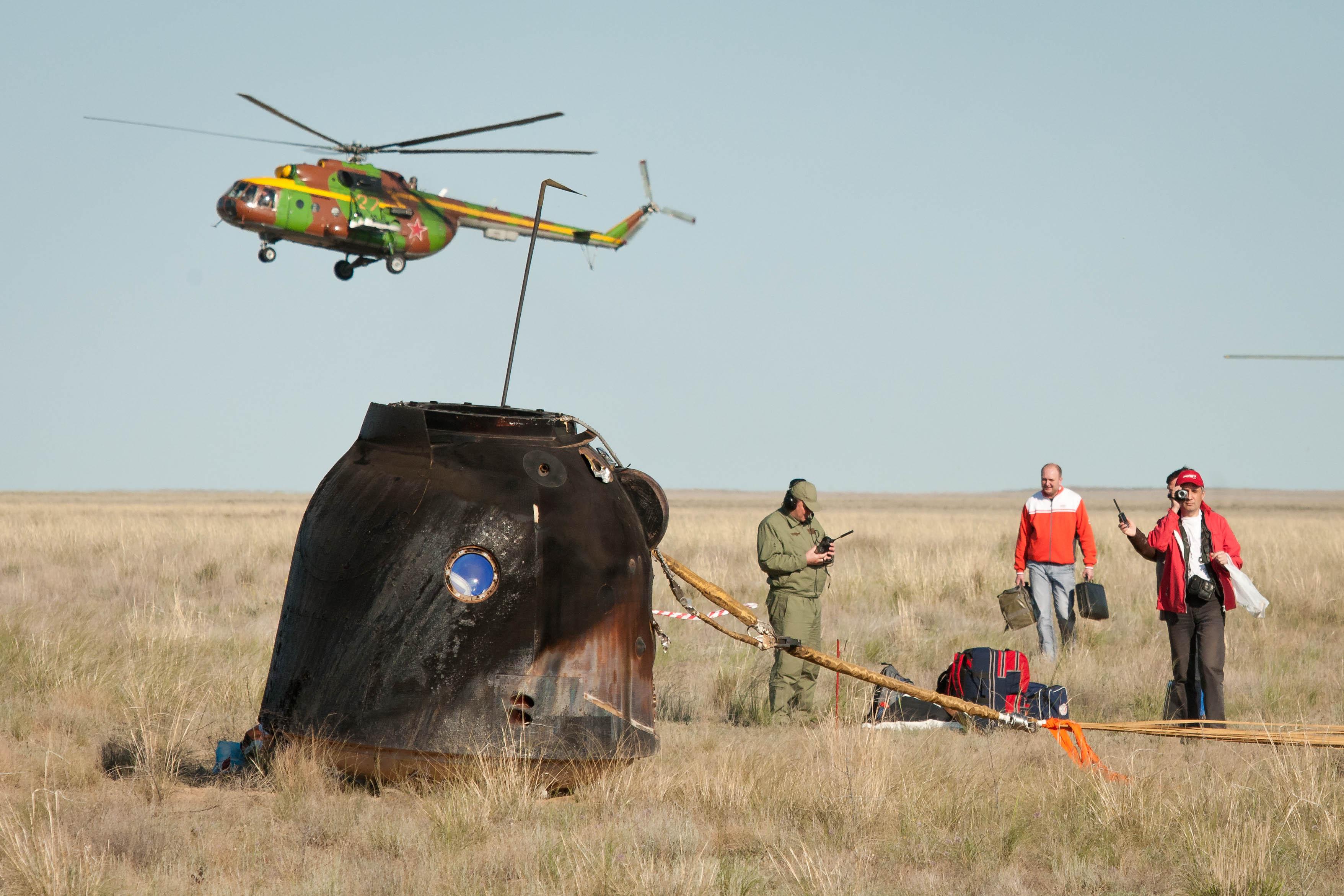 russian spacecraft landing - photo #4
