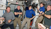STS-134 and Expedition 27 crews in the Harmony