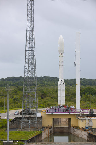 Vega in launch zone