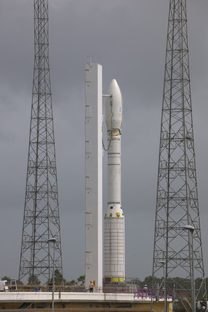 Vega on launch pad