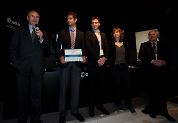CENTRALE team receives the Partners' Special Prize