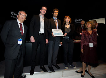 CENTRALE team receives the SAFRAN Prize