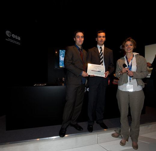 ENSMAEROSPATIALE team receives the EADS Prize