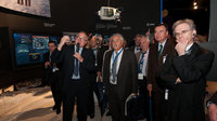 Jean-Jacques Dordain and French Parliamentary Group on Space vis