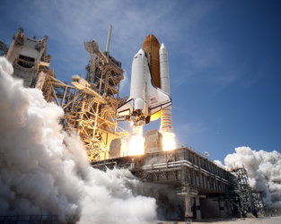 STS-132 launched