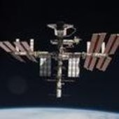 ISS as seen from Soyuz TMA-20