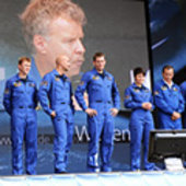 Astronauts at German Space Day 2009