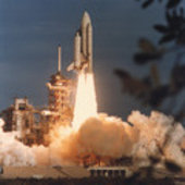 Columbia liftoff from Complex 39A