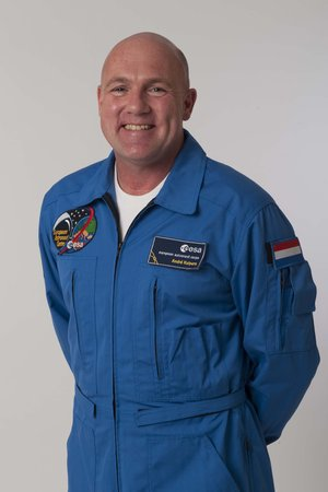 Dutch ESA astronaut André Kuipers