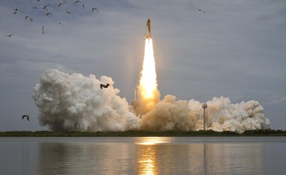 Launch of the Space Shuttle Atlantis
