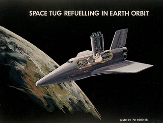Space Tug refuelling in Earth orbit