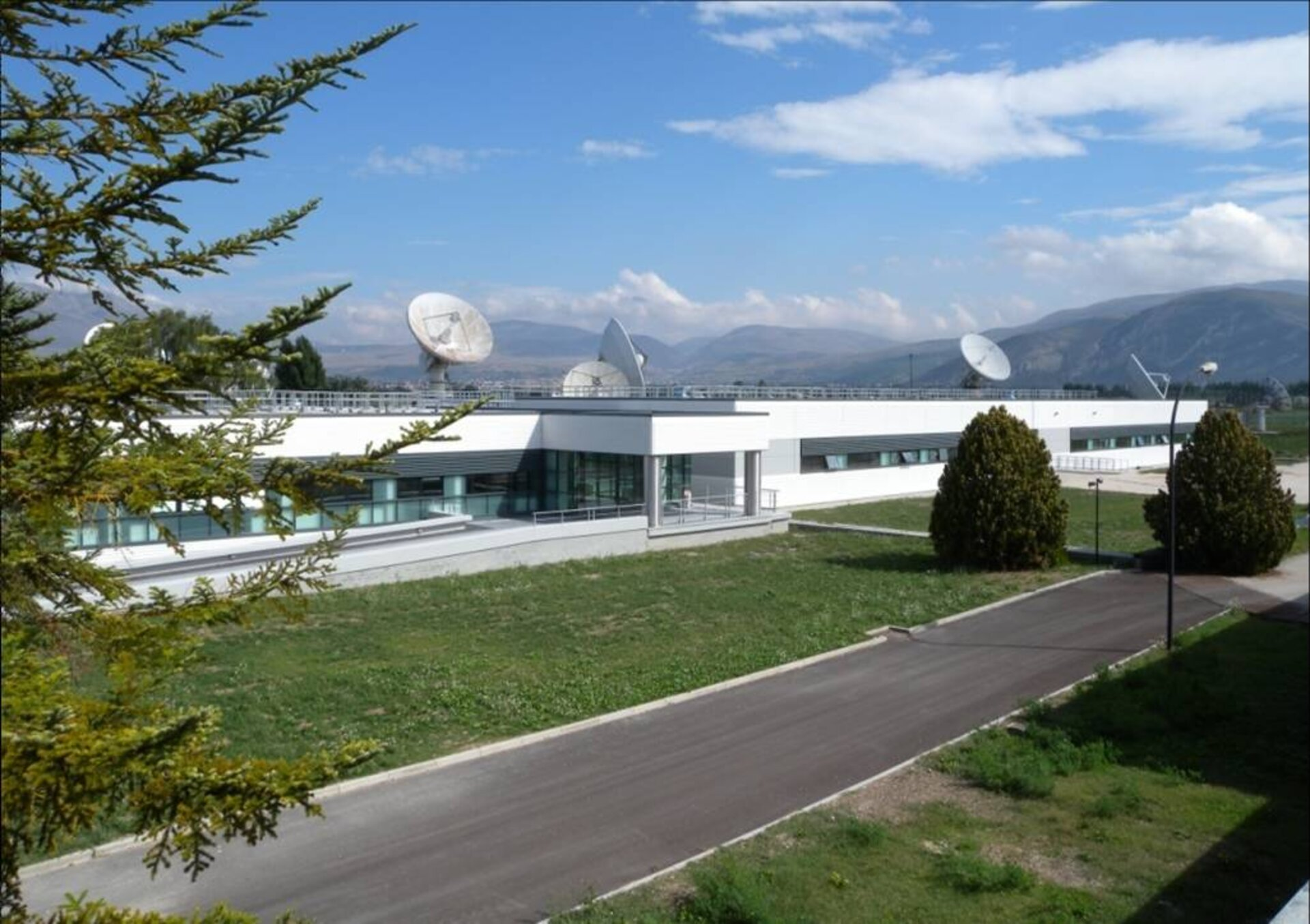 Galileo Control Centre at Fucino
