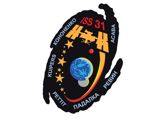 ISS Expedition 31 patch, 2011
