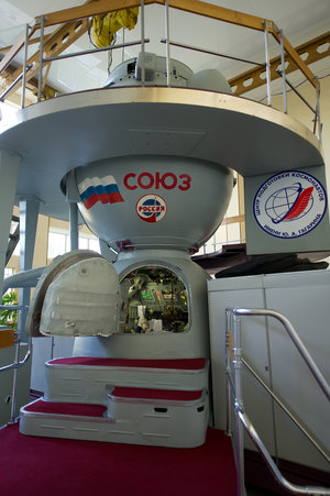 One of the Soyuz TMA simulators