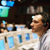 Software coordinator in ESOC's Main Control Room
