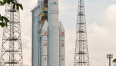 Ariane 5 Flight VA204 ready for launch