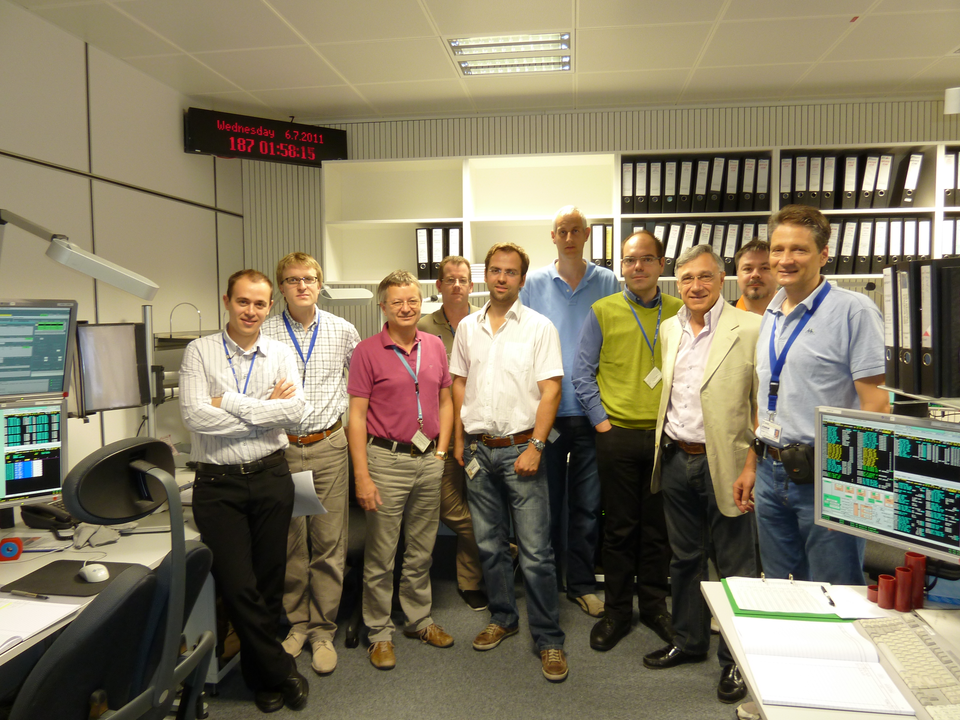 Part of the ESA team at ESOC for deorbiting