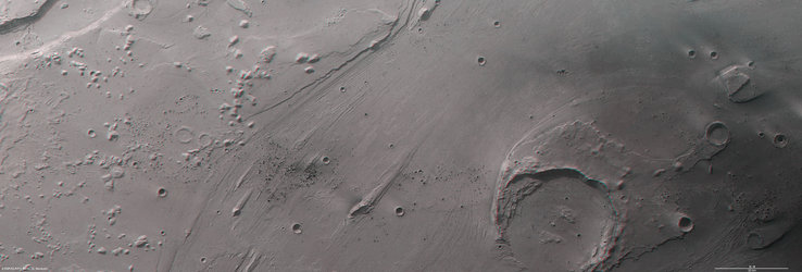 Ares Vallis in 3D