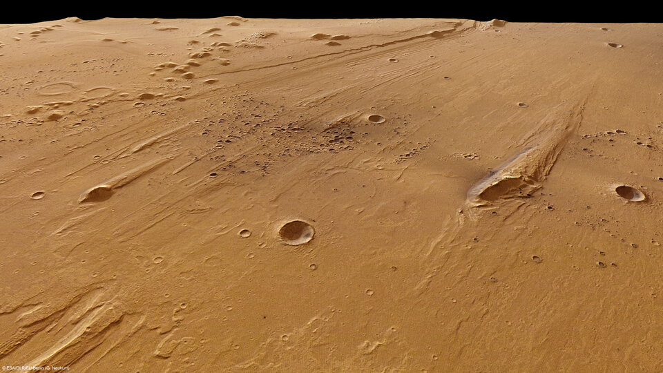 Ares Vallis in perspective