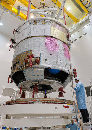 ATV-3 in preparation