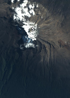 CHRIS image of Mount Kilimanjaro, Tanzania