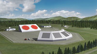 Artist's impression of future SSA radar system