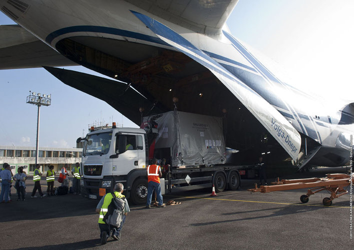Galileo Arrives in French Guiana