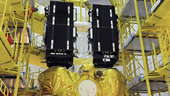 Galileo Satellites positioned onto Fregat upper stage