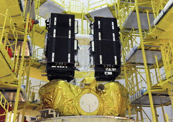 Galileo on Fregat upper stage