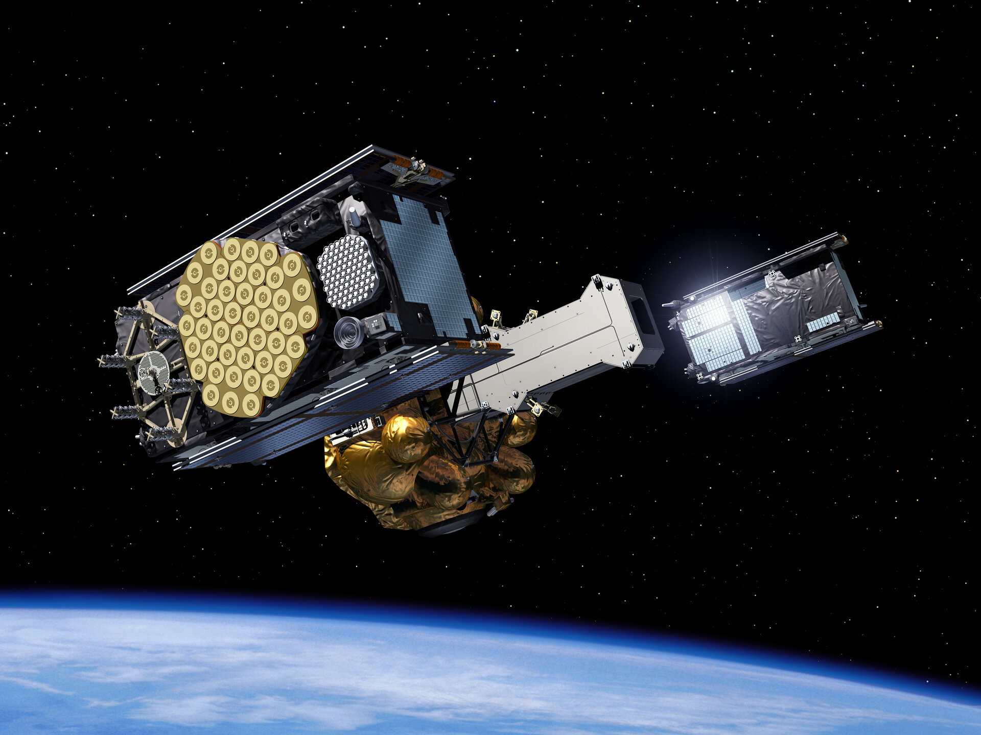 IOV satellites  ejected from Fregat upper stage