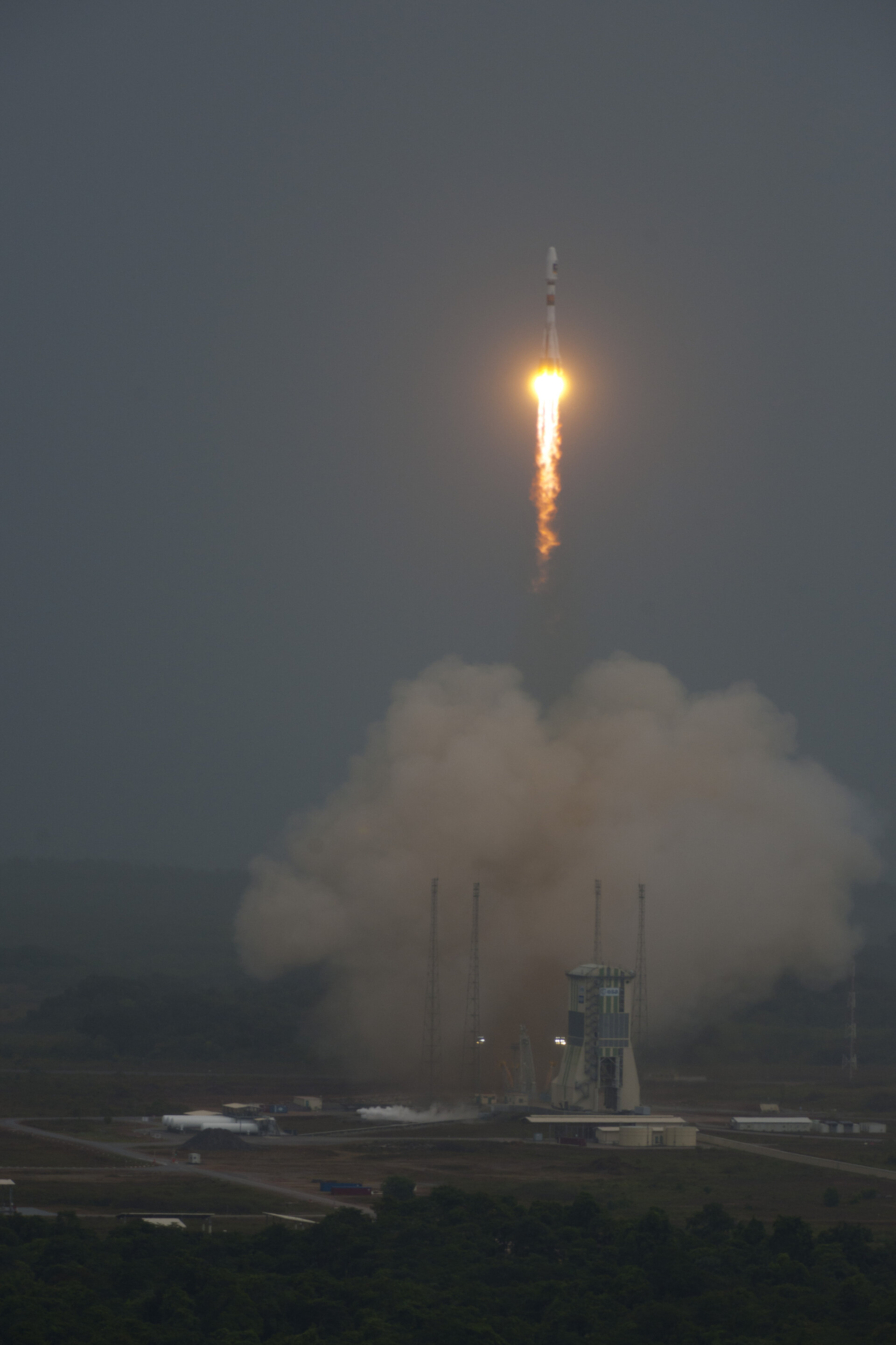 Liftoff of flight VS01