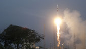 Liftoff of Soyuz flight VS01