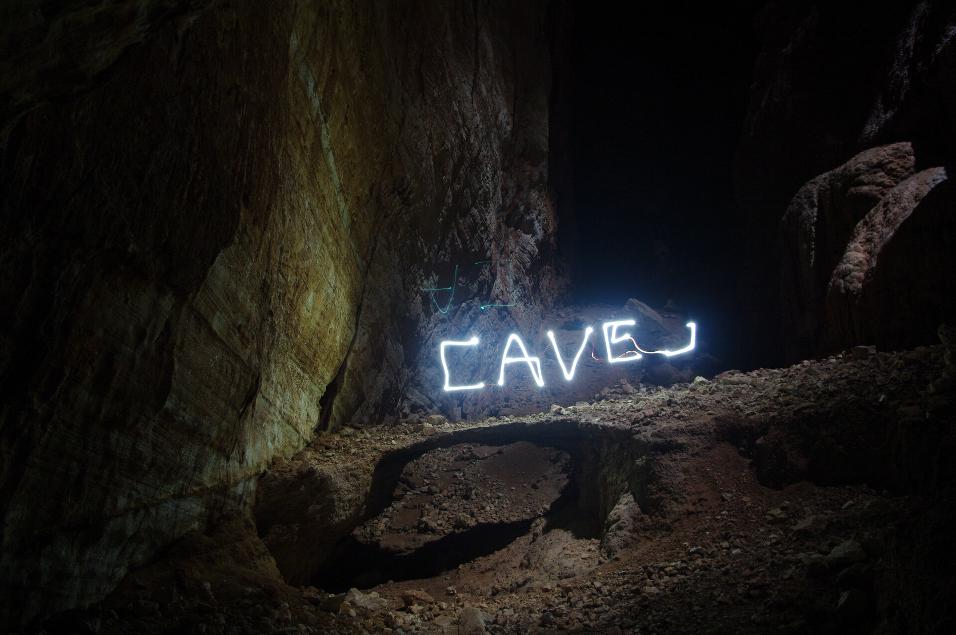 Thomas Pesquet's cave art