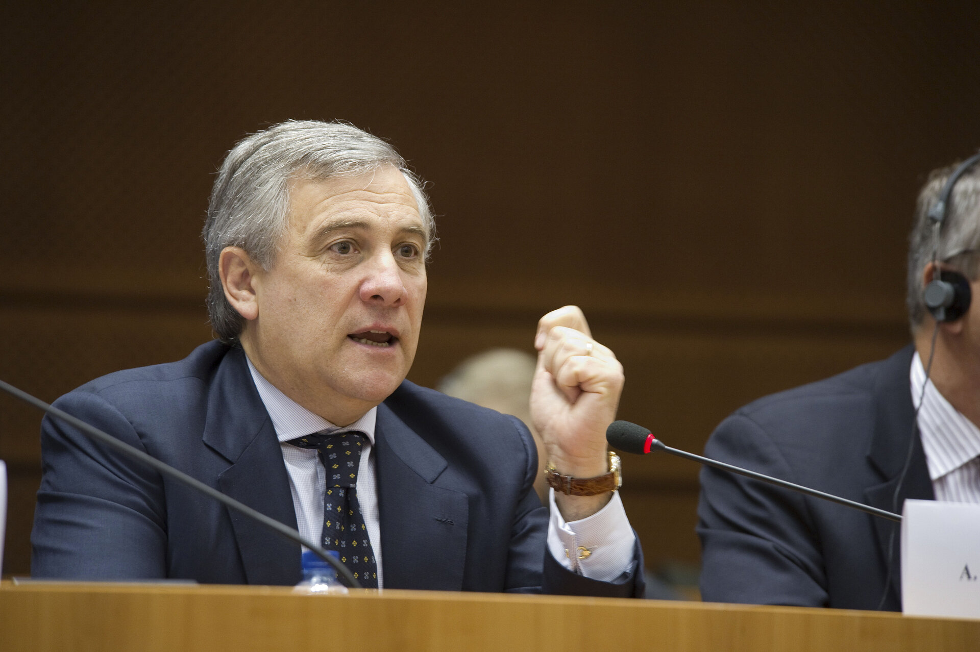 Antonio Tajani, Vice-President of the European Commission, at the 4th Conference on EU Space Policy