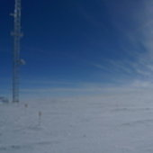 Calibration tower, Antarctica