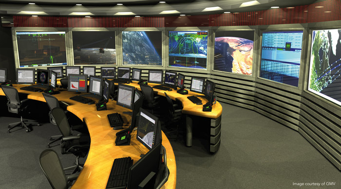 Space in Images - 2011 - 11 - GMV Satellite control room
