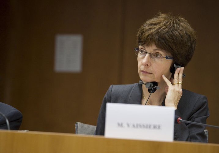 Magali Vaissiere, ESA Director of Telecommunications and Integrated Applications, at the 4th Conference on EU Space Policy