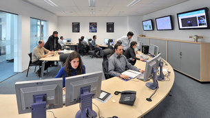 In February of 2006, the Navigation Support Office inaugurated its modern Navigation Facility, at the European Space Operations Center (ESOC), in Darmstadt, Germany.
