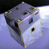Artist's impression of Proba in orbit