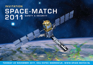 Space-MATCH 2011 takes place on 22 November in ESTEC, Noordwijk