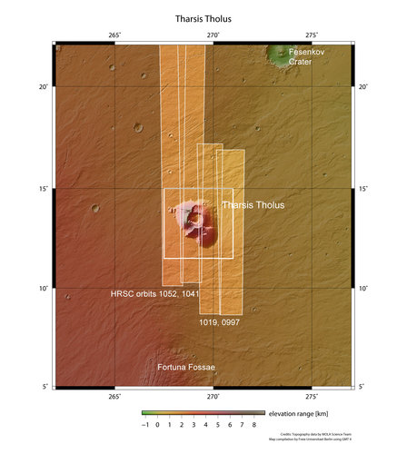 Tharsis Tholus in context