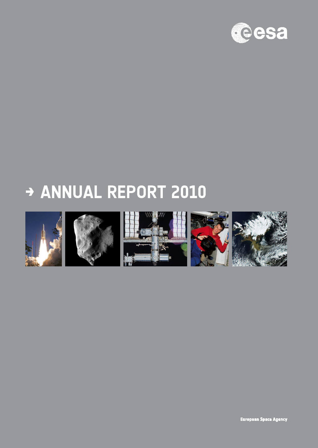 space in images annual report cover  annual report cover 2010 321 80 kb