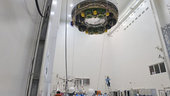 ATV-3 Eduardo Amalfi hoisted ready for launch