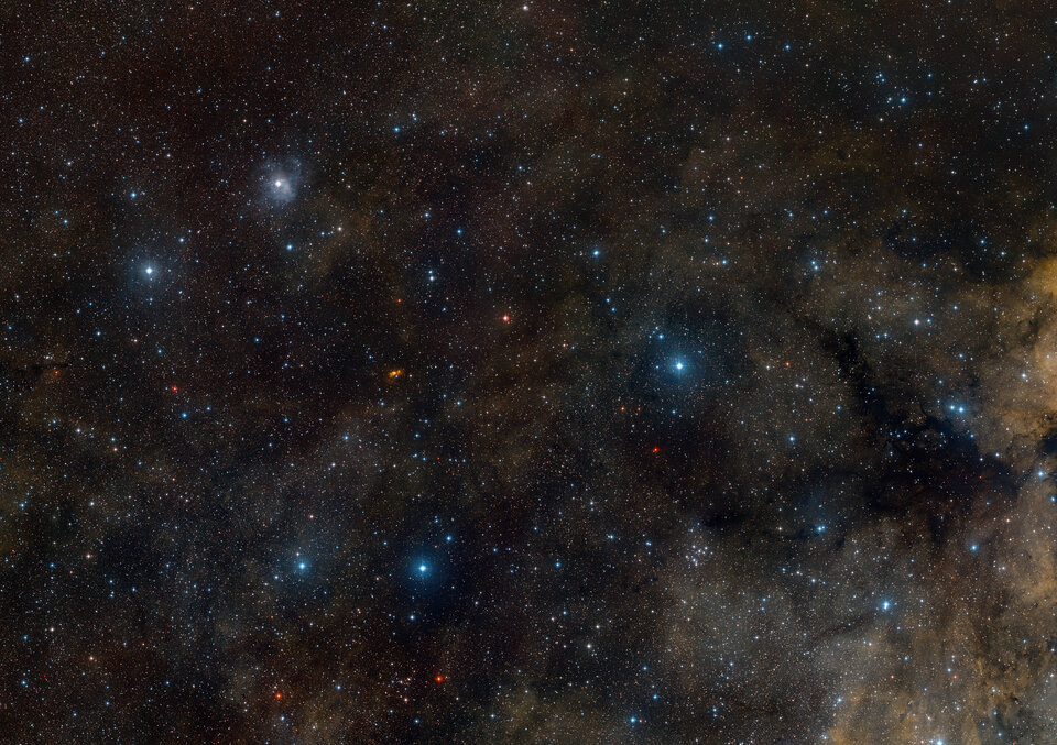 Ground-based view of the area around star-forming region S 106