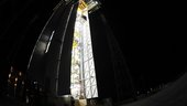 Hoisting of Vega's AVUM fourth stage