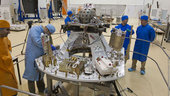 LARES, ALMASat-1 and CubeSats preparations