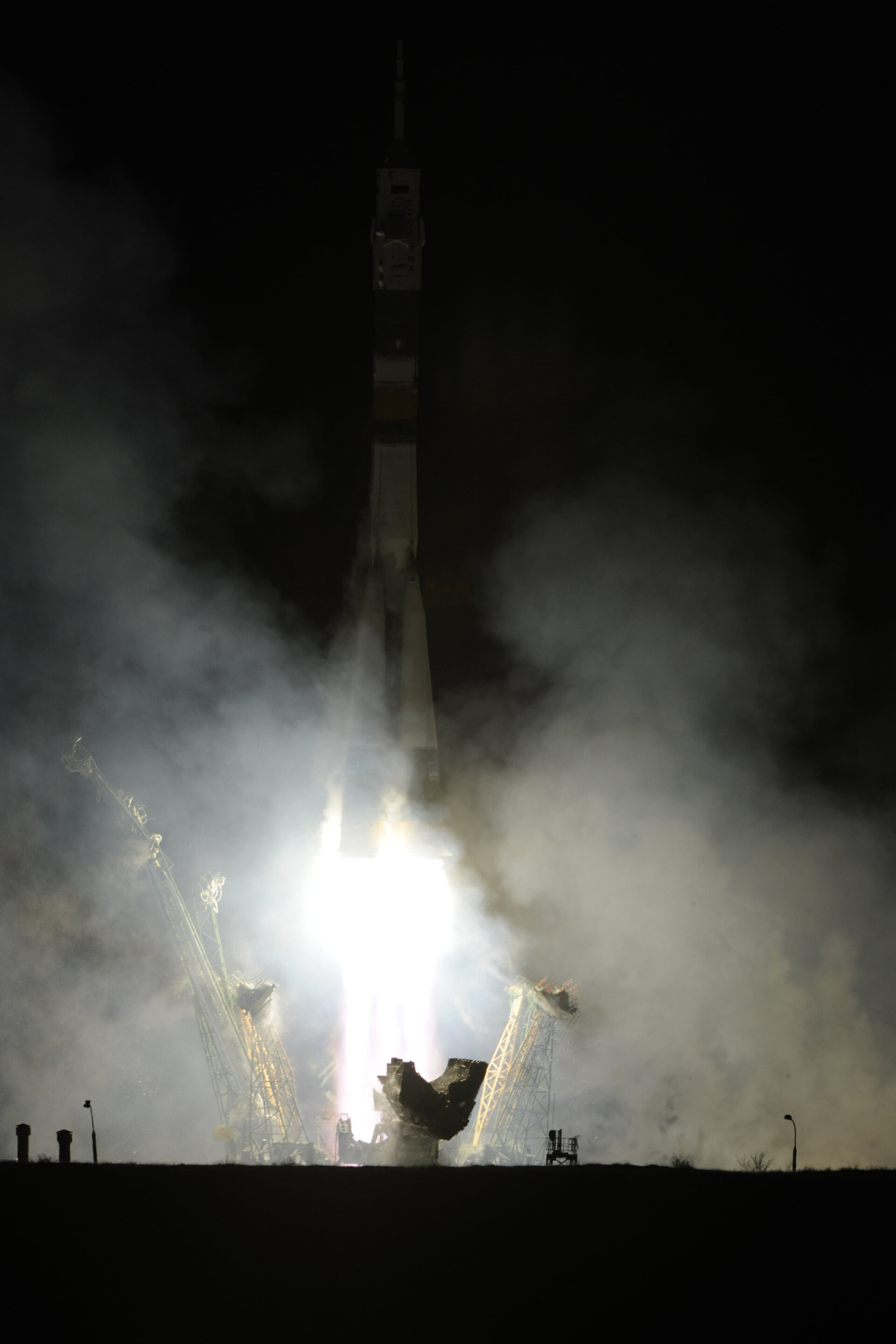 Launch of the Soyuz TMA-03M on 21 December 2011