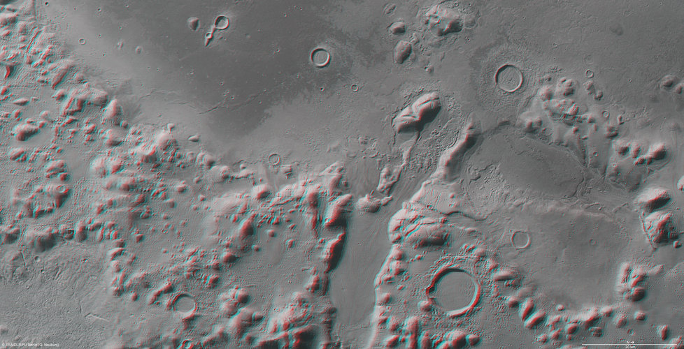Phlegra Montes in 3D